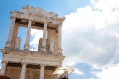Ρωμαϊκό θέατρο Philippopolis, Plovdiv, Βουλγαρία Στοκ Εικόνα