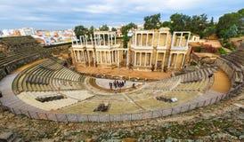 ρωμαϊκό Ισπανία θέατρο του Μέριντα Στοκ εικόνα με δικαίωμα ελεύθερης χρήσης