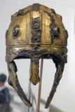 Ρωμαϊκό κράνος σε Aquincum Στοκ φωτογραφία με δικαίωμα ελεύθερης χρήσης