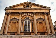 Ρωμαϊκό λουτρών κτήριο πετρών έλξης βρετανικής Somerset αρχαίο ιστορικό αρχιτεκτονικής πόλεων λουτρών εισόδων μπροστινό Στοκ Φωτογραφία