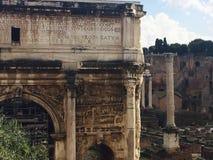 Ρωμαϊκό φόρουμ κοντά στο Colosseum Στοκ Εικόνα