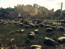 Ρωμαϊκό φόρουμ κοντά στο Colosseum Στοκ Φωτογραφία