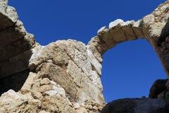 Ρωμαϊκό Amphitheaer, Beit Guvrin, Ισραήλ Στοκ Εικόνες