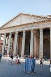 ΡΩΜΗ 6 ΑΥΓΟΎΣΤΟΥ: Το Pantheon στις 6 Αυγούστου 2013 στη Ρώμη, Ιταλία. Στοκ Εικόνες