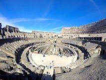 ΡΩΜΗ Ιταλία - 14 Μαΐου, 2017: μέσα του Coliseum στη Ρώμη στοκ εικόνες