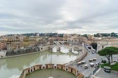 ΡΩΜΗ, ΙΤΑΛΙΑ - 27 ΙΑΝΟΥΑΡΊΟΥ 2010: άποψη της Ρώμης Στοκ φωτογραφίες με δικαίωμα ελεύθερης χρήσης