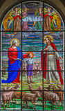 ΡΩΜΗ, ΙΤΑΛΙΑ - 10 ΜΑΡΤΊΟΥ 2016: Η σκηνή του ονείρου OD φορά Bosco στην ηλικία εννέα & x28 1825& x29  Στοκ εικόνα με δικαίωμα ελεύθερης χρήσης