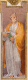 ΡΩΜΗ, ΙΤΑΛΙΑ - 12 ΜΑΡΤΊΟΥ 2016: Το ST Peter η νωπογραφία αποστόλων στο dei Fiorentini βασιλικών SAN Giovanni εκκλησιών από Nicolo Στοκ Φωτογραφία