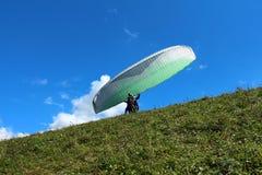 Ρωσία Δημοκρατία kabardino-Barkar Chegem paradrome όπου τα όνειρα πραγματοποιούνται, πτήσεις πέρα από τη γη!!! Στοκ φωτογραφία με δικαίωμα ελεύθερης χρήσης