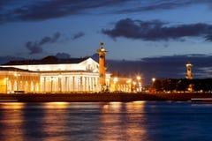 Ρωσία Η Αγία Πετρούπολη αυξημένος η Πετρούπολη ποταμός Ρωσία ST παλατιών neva μουσείων kunstkamera εθνογραφίας γεφυρών ανθρωπολογ στοκ εικόνα με δικαίωμα ελεύθερης χρήσης
