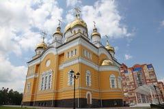 Ρωσία Η εκκλησία του Cyril και Methodius στο Σαράνσκ Στοκ Φωτογραφία