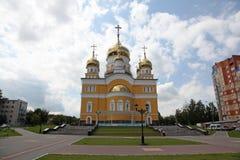 Ρωσία Η εκκλησία του Cyril και Methodius στο Σαράνσκ Στοκ εικόνα με δικαίωμα ελεύθερης χρήσης