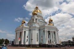 Ρωσία Μορντβά Καθεδρικός ναός του ναυάρχου Feodor Ushakov πολεμιστών του ST Στοκ Εικόνα
