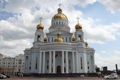Ρωσία Μορντβά Καθεδρικός ναός του ναυάρχου Feodor Ushakov πολεμιστών του ST Στοκ Εικόνες