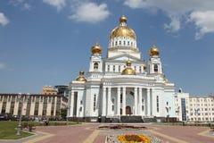 Ρωσία Μορντβά Καθεδρικός ναός του ναυάρχου Feodor Ushakov πολεμιστών του ST Στοκ φωτογραφίες με δικαίωμα ελεύθερης χρήσης