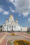 Ρωσία Μορντβά Καθεδρικός ναός του ναυάρχου Feodor Ushakov πολεμιστών του ST Στοκ φωτογραφία με δικαίωμα ελεύθερης χρήσης