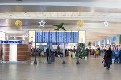 Ρωσία, Μόσχα, εσωτερικό του αερολιμένα Sheremetyevo Στοκ φωτογραφία με δικαίωμα ελεύθερης χρήσης