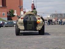 Ρωσία Μόσχα APC BTR 80 κόκκινων τετραγώνων και Τεθωρακισμένων Όχημα Μεταφοράς Προσωπικό Στοκ Εικόνα