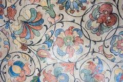 Ρωσία, Μόσχα, Floral διακοσμήσεις του ανώτατου ορίου του καθεδρικού ναού βασιλικού ` s του ST Στοκ Εικόνες