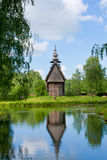 Ρωσία, παλαιά ξύλινη εκκλησία στοκ εικόνα
