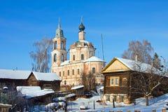 Ρωσία, περιοχή Kostroma, πόλη Nerechta Στοκ φωτογραφίες με δικαίωμα ελεύθερης χρήσης