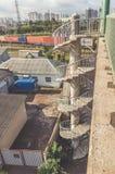 Ρωσία, σπειροειδής σκάλα της Αγία Πετρούπολης στις 16 Σεπτεμβρίου 2017 στο θόριο Στοκ Φωτογραφίες