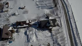 Ρωσία, χειμώνας, Ορθόδοξη Εκκλησία, χειμερινά τοπία του Γιακουτία στη Ρωσία απόθεμα βίντεο