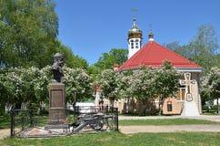 Ρωσία, Adygea, χωριό Pobeda, έρημοι mihaylo-Afonskaya (μοναστήρι), η εκκλησία του αρχαγγέλου Michael Στοκ εικόνες με δικαίωμα ελεύθερης χρήσης
