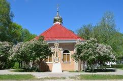 Ρωσία, Adygea, χωριό Pobeda, έρημοι mihaylo-Afonskaya (μοναστήρι), η εκκλησία του αρχαγγέλου Michael Στοκ Φωτογραφίες