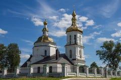 Ρωσία, Bezhetsk, 25, τον Ιούλιο του 2015: Εκκλησία μεταμόρφωσης Savior στοκ εικόνα με δικαίωμα ελεύθερης χρήσης