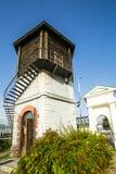 Ρωσία Ekaterinburg Ο πύργος νερού στο ιστορικό τετράγωνο στοκ εικόνες με δικαίωμα ελεύθερης χρήσης