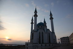 Ρωσία kazan κεραμικό μουσουλμανικό τέμενος Πετρούπολη ST τεμαχίων ντεκόρ καθεδρικών ναών Στοκ Φωτογραφία