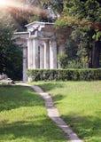 Ρωσία Pavlovsk Pavilion18 αιώνας στο πάρκο στοκ εικόνες με δικαίωμα ελεύθερης χρήσης