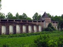 Ρωσία rostov Μοναστήρι Borisoglebsky Rostovsky Στοκ εικόνα με δικαίωμα ελεύθερης χρήσης