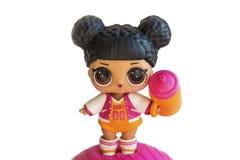 Ρωσία, Severodvinsk, 04 20 2019 Χαριτωμένος λίγο Λ ? ? Αιφνιδιαστική κούκλα με τα εξαρτήματα Το όνομά της είναι στεφάνες MVP Απομ στοκ εικόνα με δικαίωμα ελεύθερης χρήσης