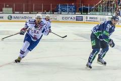 ΡΩΣΙΑ, ΣΤΙΣ 10 ΣΕΠΤΕΜΒΡΊΟΥ: Ilya Kovalchuk. Στοκ Φωτογραφίες