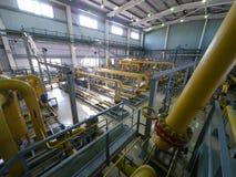 ΡΩΣΙΑ, NADYM - 8 ΙΟΥΝΊΟΥ 2011: Εξοπλισμός της εταιρίας GAZPROM ι Στοκ εικόνες με δικαίωμα ελεύθερης χρήσης