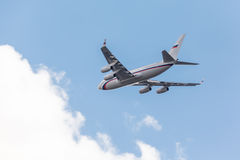 Ρωσικά αεροσκάφη αεριωθούμενων αεροπλάνων Προέδρου Στοκ εικόνα με δικαίωμα ελεύθερης χρήσης