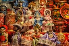 Ρωσικά αναμνηστικά Στοκ Εικόνες