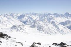 Ρωσικά βουνά, Elbrus Στοκ Εικόνες