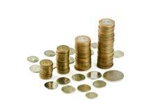 Ρωσικά νομίσματα Στοκ Φωτογραφίες