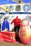 Ρωσικά παραδοσιακά αναμνηστικά Στοκ Εικόνες