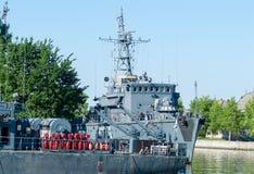 Ρωσικά σκάφη μάχης Στοκ εικόνες με δικαίωμα ελεύθερης χρήσης