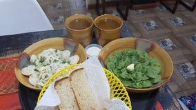 Ρωσικά τρόφιμα Στοκ Εικόνα