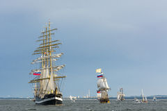 Ρωσικά ψηλά σκάφη Στοκ Εικόνες