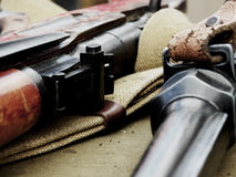 Ρωσικά όπλα Στοκ Εικόνα
