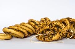 Ρωσικά donuts Στοκ φωτογραφία με δικαίωμα ελεύθερης χρήσης