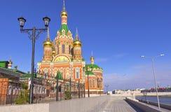 Ρωσικές αρχιτεκτονική και παραδόσεις Yoshkar-Ola Ρωσία Στοκ Φωτογραφία