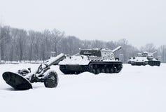 Ρωσικές δεξαμενές Στοκ φωτογραφία με δικαίωμα ελεύθερης χρήσης