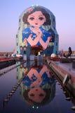 Ρωσικές να τοποθετηθεί κούκλες Στοκ φωτογραφία με δικαίωμα ελεύθερης χρήσης